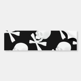 Skull & Crossed Bones Design Bumper Stickers