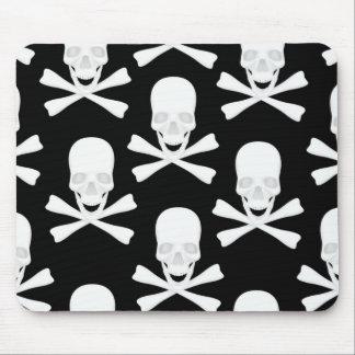 Skull & Crossed Bones Design Mouse Pad