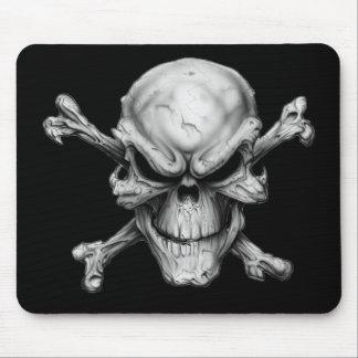 Skull Crossed Bones Mouse Pad