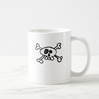 skull - crossed bones mug
