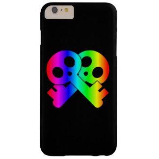 Skull Crossed Skeleton Keys Barely There iPhone 6 Plus Case