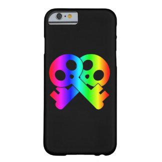 Skull Crossed Skeleton Keys Barely There iPhone 6 Case