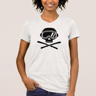 Skull crossed ski T-Shirt