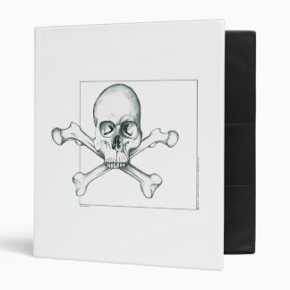 Skull & Crossed Thigh Bones Binder