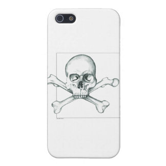 Skull & Crossed Thigh Bones Cover For iPhone SE/5/5s