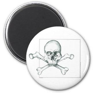 Skull & Crossed Thigh Bones Magnet