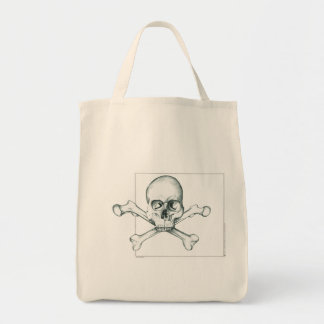 Skull & Crossed Thigh Bones Tote Bag