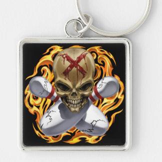 Skull & Crosspins Keychain