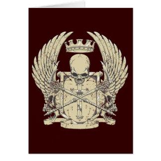 Skull & Crown Card