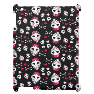 Skull Cupcake Madness Case For The iPad