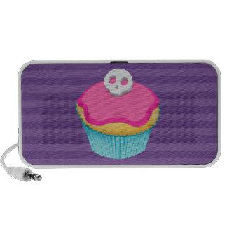 Skull Cupcake (pink) - Speakers