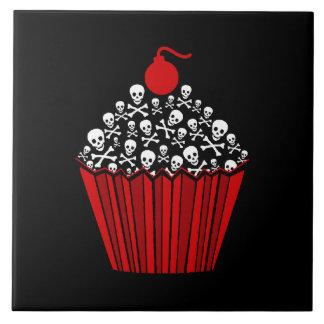 +[ Skull Cupcake ]+ Tile