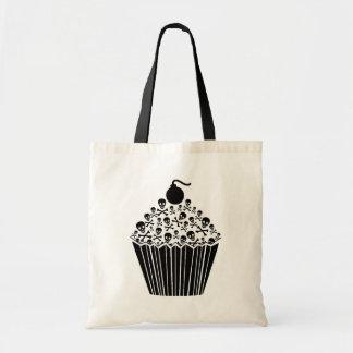 Skull Cupcake Tote Bag