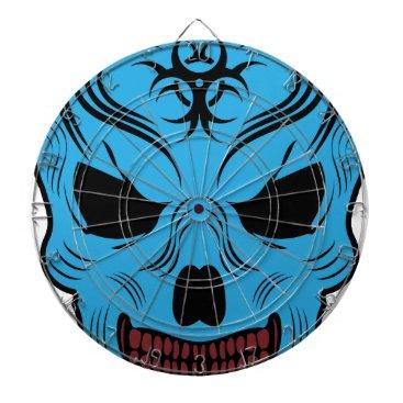 Halloween Themed Skull Dart Board