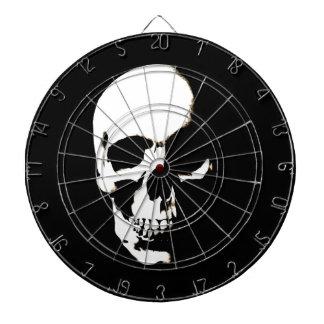 Skull Dartboard With Darts