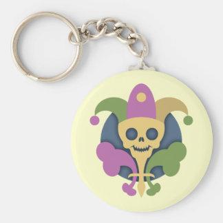 skull-de-lis-T Keychains