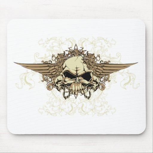 Skull ~ Dead Serious Fantasy Art Mouse Pads
