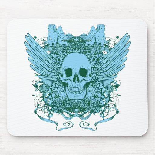 Skull ~ Deadly Sin Fantasy Evil Art Mouse Pad