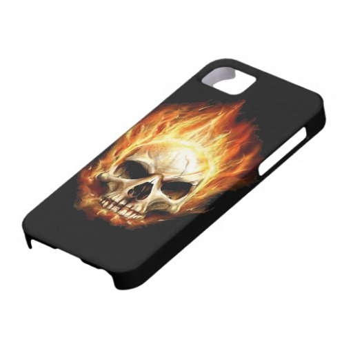 Skull - Death Head - Devil iPhone 5 Cover