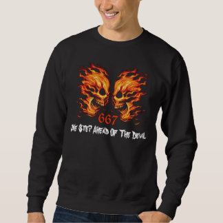 Skull - Death Head - Devil Sweatshirt