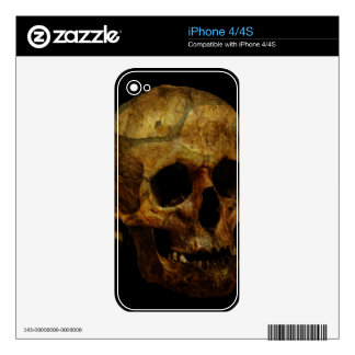 Skull Decal For The iPhone 4S
