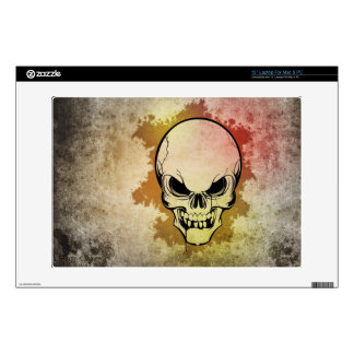 "skull decals for 13"" laptops"