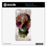 Skull Decals For iPhone 4S