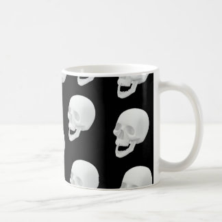 Skull Design Coffee Mug