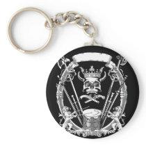 Skull Design Design Keychain