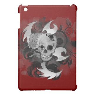 skull design iPad mini case