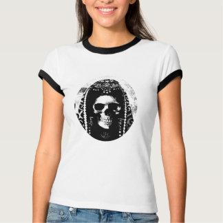 Skull Design Ladies T-shirt