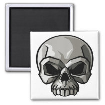 Skull Design Magnet