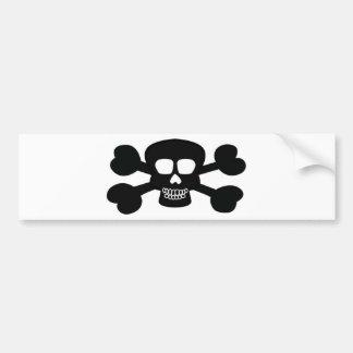 Skull Design Merchandise Bumper Sticker