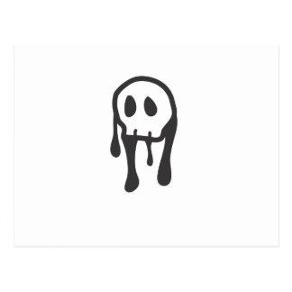Skull Design Postcard