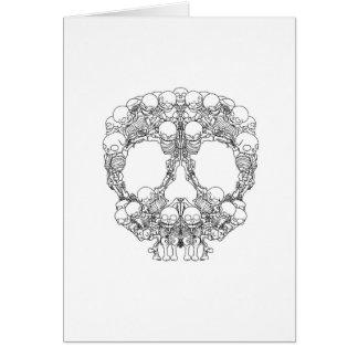 Skull Design - Pyramid of Skulls Card