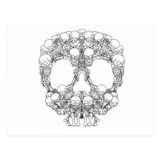 Skull Design - Pyramid of Skulls Postcard