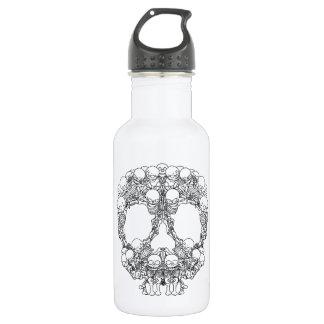 Skull Design - Pyramid of Skulls Stainless Steel Water Bottle