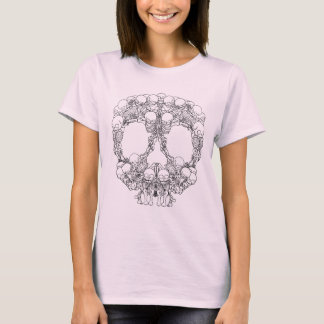 Skull Design - Pyramid of Skulls T-Shirt