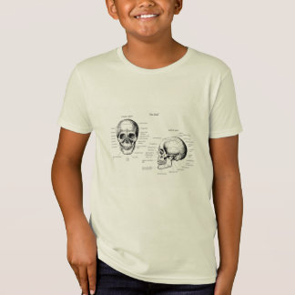 Skull Details Side and Face T-Shirt
