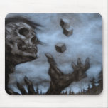 Skull & Dices Mouse Pad