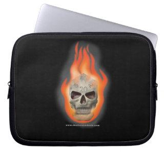 Skull Die Computer Sleeves