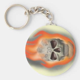 Skull Die Key Chains