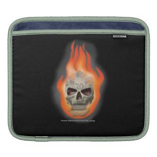 Skull Die Sleeve For MacBook Air