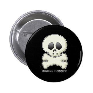 Skull-Diggity-Boy Pins