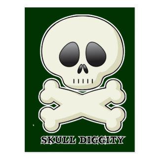 Skull-Diggity-Boy Postcard