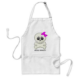 Skull-Diggity-Girl Adult Apron
