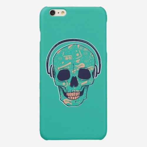 SKULL DJ iPHONE CASES DESIGN