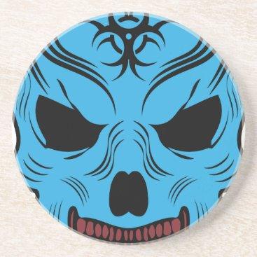 Halloween Themed Skull Drink Coaster