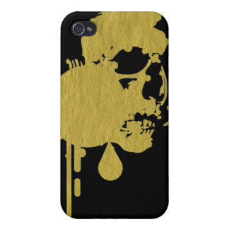 skull drip iPhone 4 cover