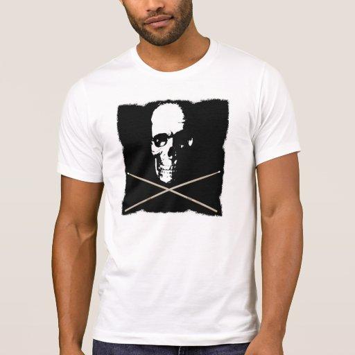 Skull Drummer Tshirts